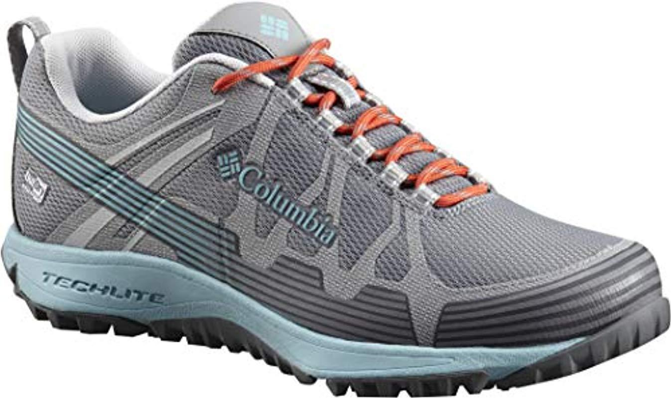 2be7ea464bca Columbia  s Conspiracy V Outdry Waterproof Multi-sport Shoes in Gray ...