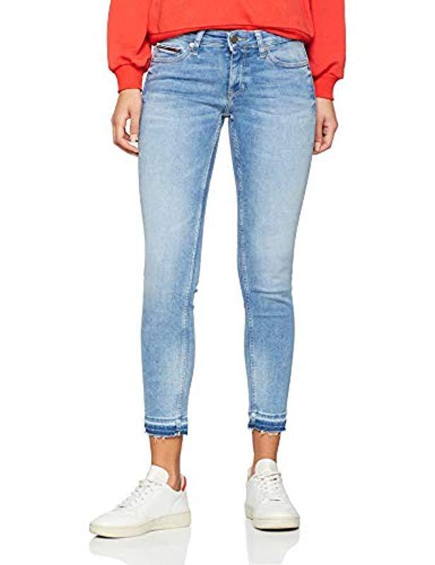 Tommy Hilfiger Denim Girlfriend Jeans in Blue Lyst