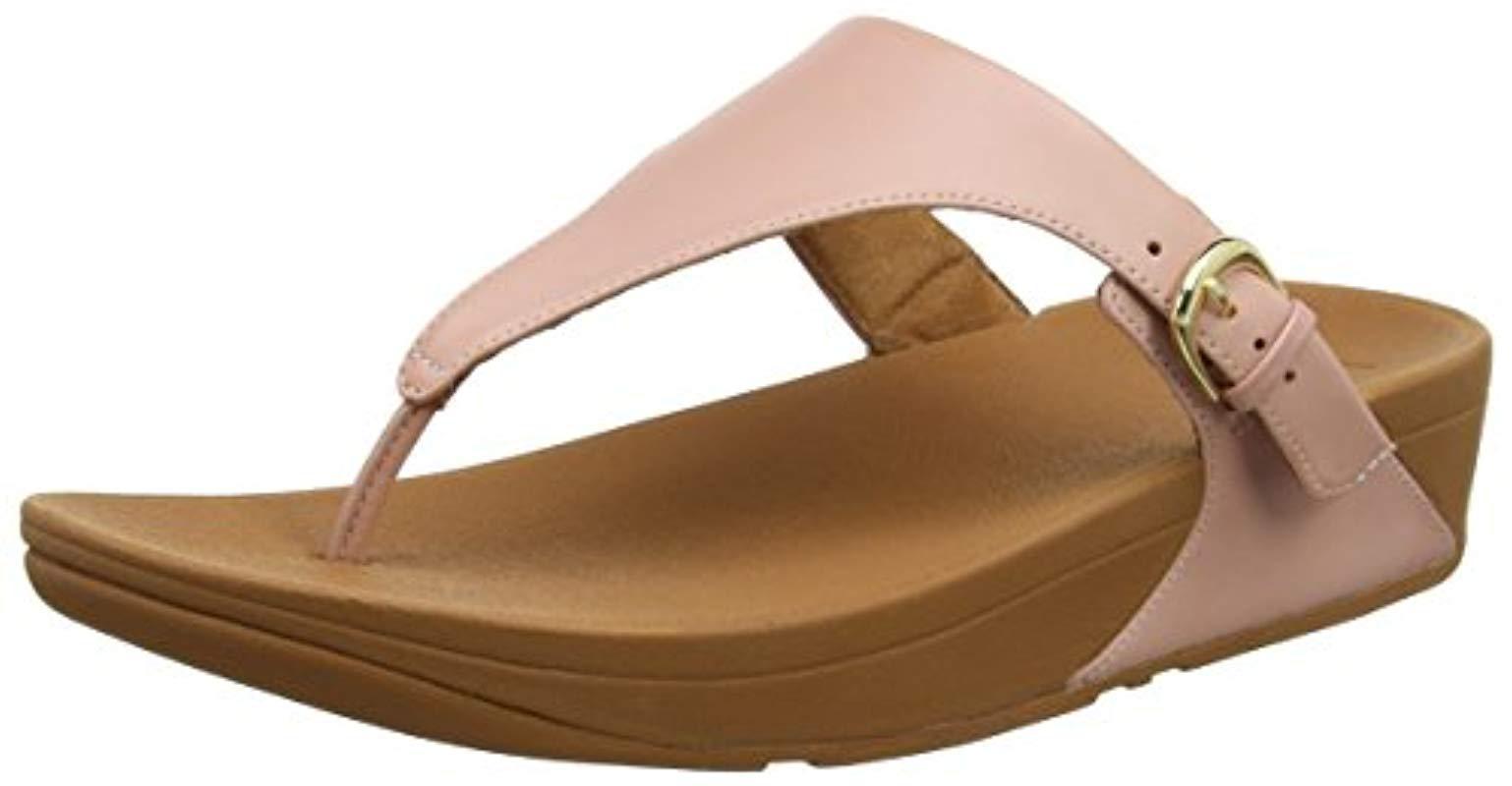 52a385feb234de Fitflop. Women s Skinny Toe Thong Leather Heels Sandals