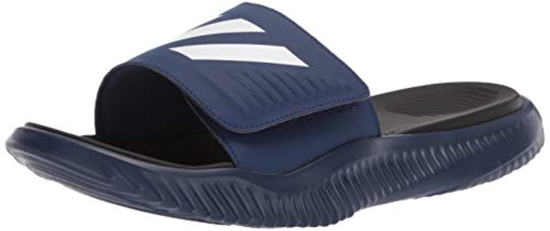 info for 78823 86005 adidas. Mens Blue Alphabounce Slide