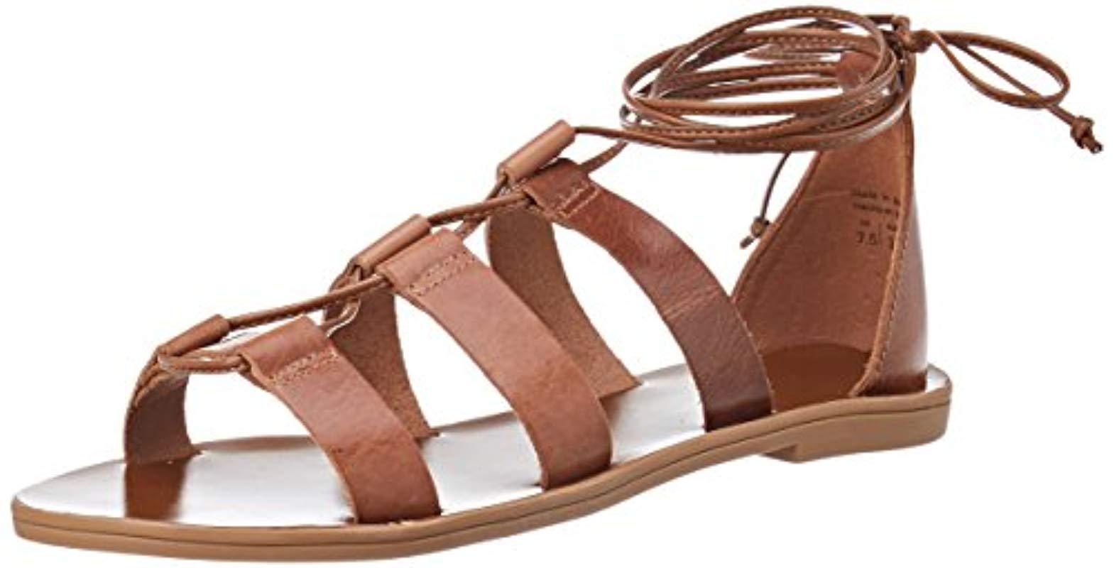 2f35925d15bb ALDO Xavierra Gladiator Sandals in Brown - Lyst