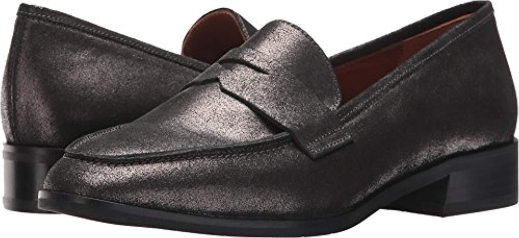 fc61a947db3 Lyst - Aquatalia Aquatalia Sharon Pebbled Suede Slip-on Loafer