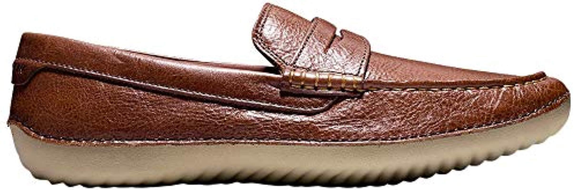 d426470fa9c Lyst - Cole Haan Motogrand Penny Loafer in Brown for Men - Save 15%