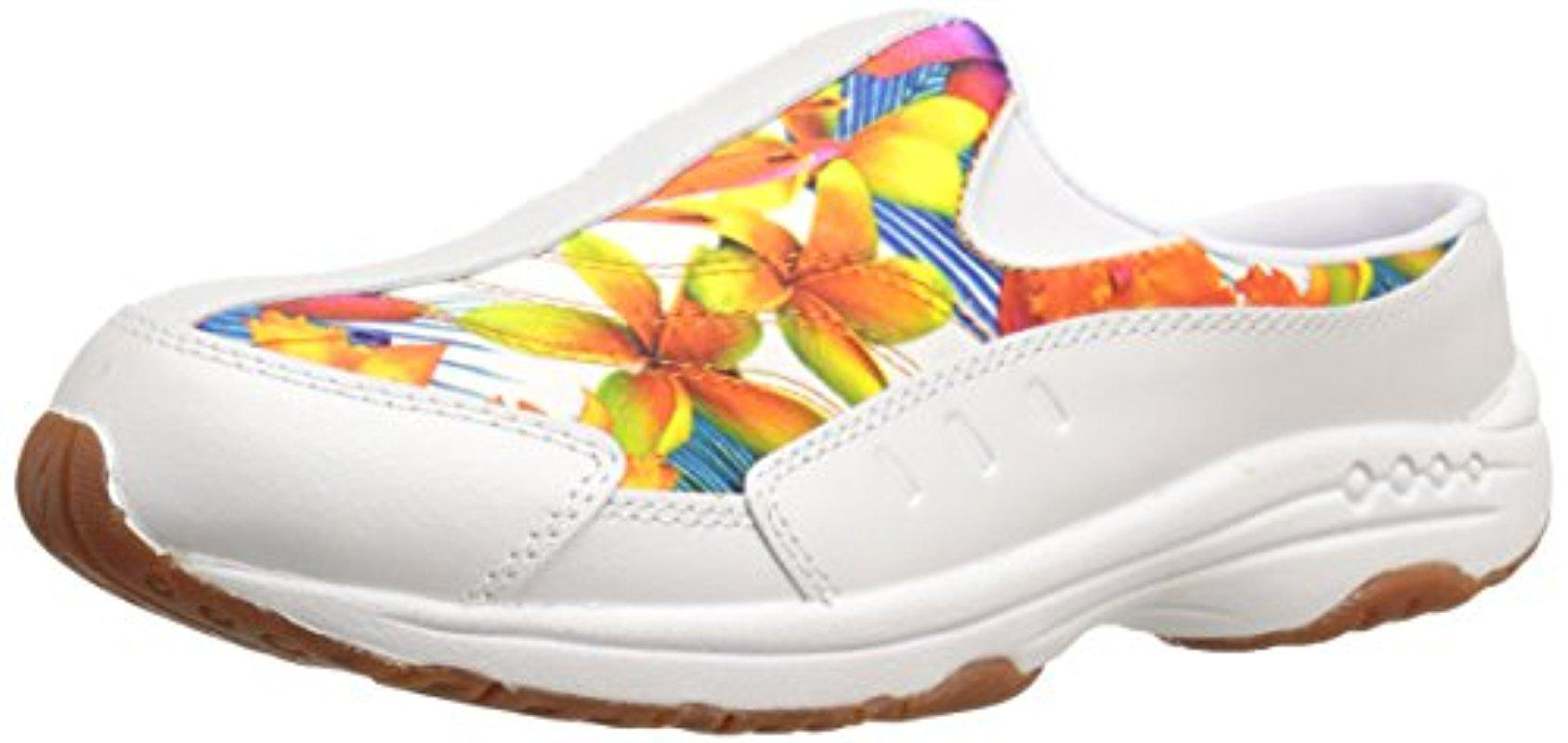 Easy Spirit - White Traveltime Mule - Lyst. View Fullscreen. There was a  problem loading this image.