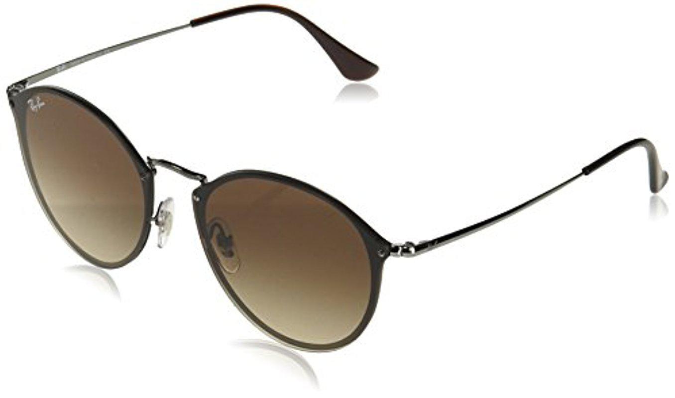 d4d0322d246 Lyst - Ray-Ban Rb3574n Blaze Round Sunglasses - Save 20%