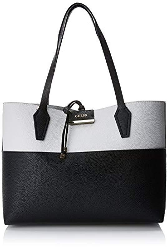 e4824be9133d Guess Hobo Shoulder Bag in Black - Lyst