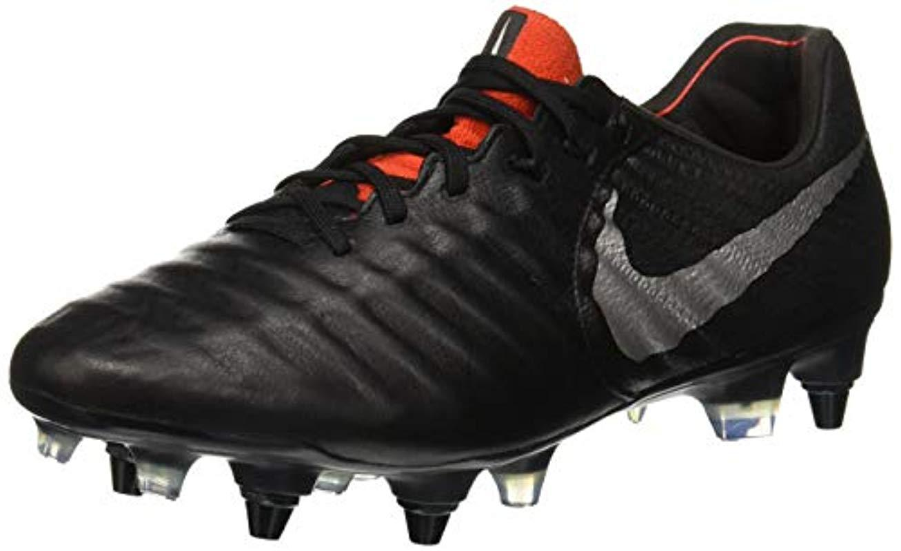 new product 0bbfa bbd06 Nike Adults  Legend 7 Elite Sg-pro Ac Footbal Shoes in Black for Men ...