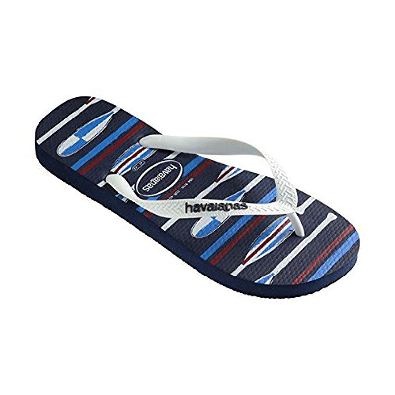 eab306df32aa9 Lyst - Havaianas Top Optical Sandal Flip Flop in Blue for Men