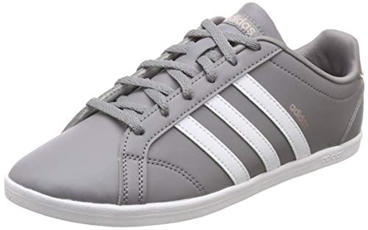 adidas Coneo Qt Tennis Shoes White in Gray - Lyst 18290576800bf