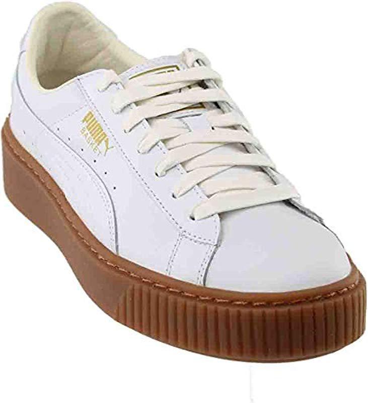 Platform 0 Sneakers In Save 's Puma Core Lyst Basket White 61 6EWqRwavZ