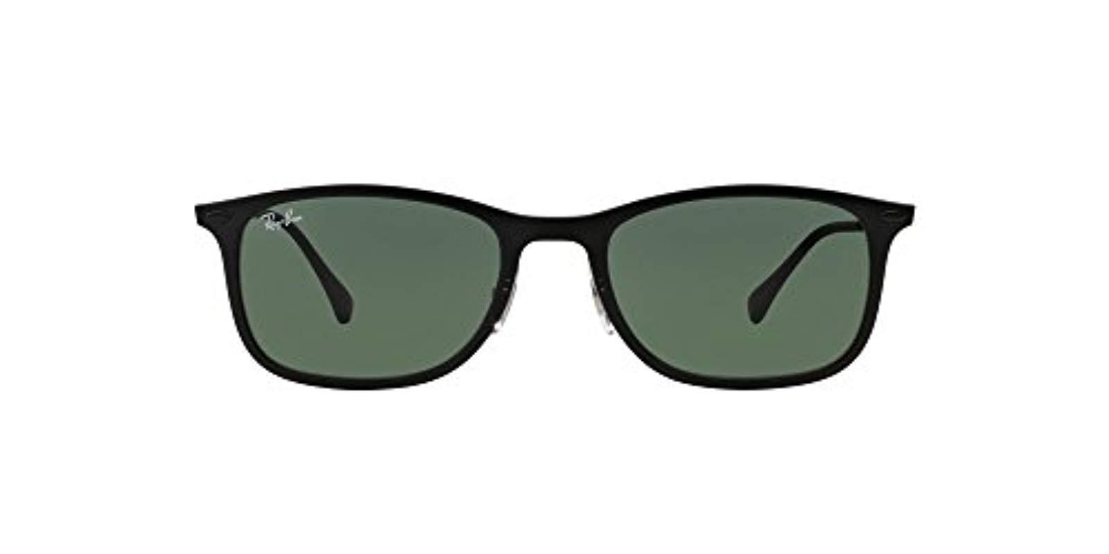 f7827af06e Ray-Ban Rb4225 New Wayfarer Light Ray Sunglasses in Black for Men - Lyst