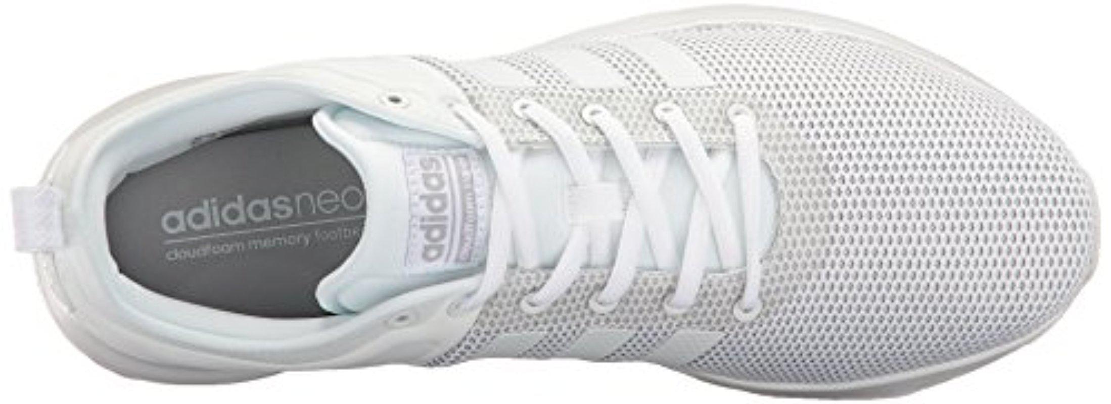 Zapatillas super de correre blancas lyst adidas originali cloudfoam