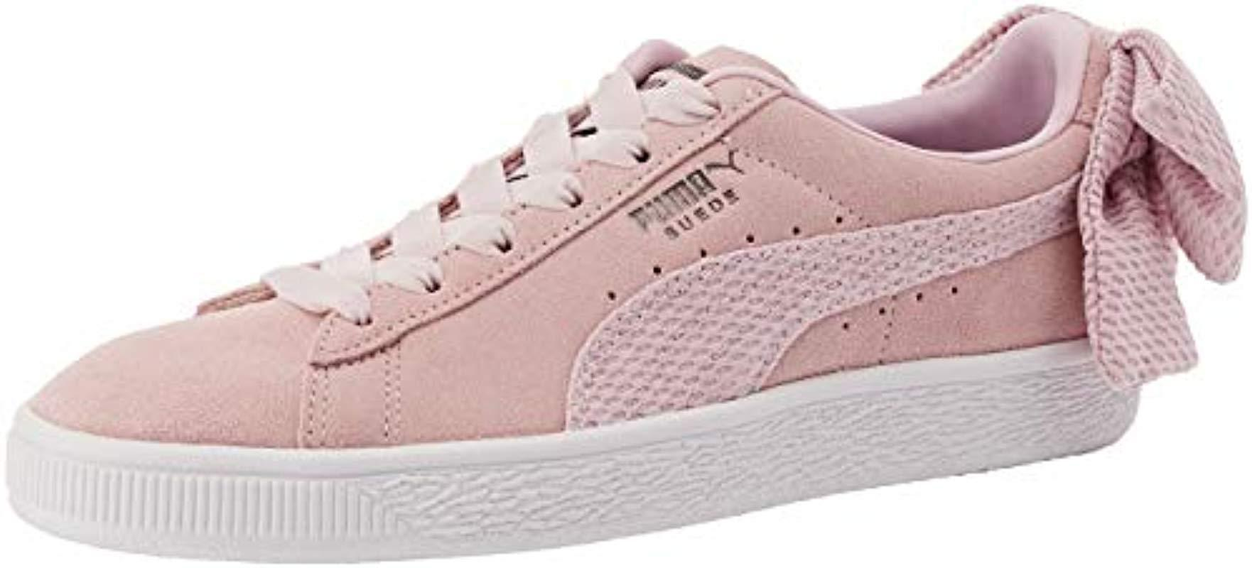 Puma   s Suede Bow Uprising Wn s Low-top Sneakers - Lyst 9f7b65cb8
