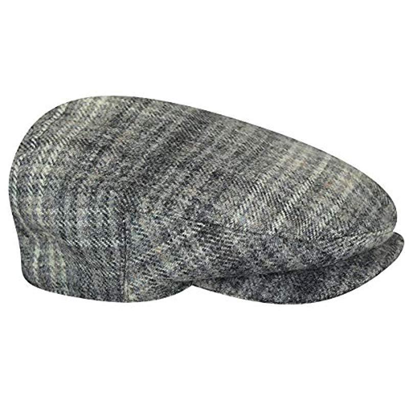 f2192d0ff3e38 Lyst - Kangol British Peebles Flat Ivy Cap Hat in Gray for Men ...