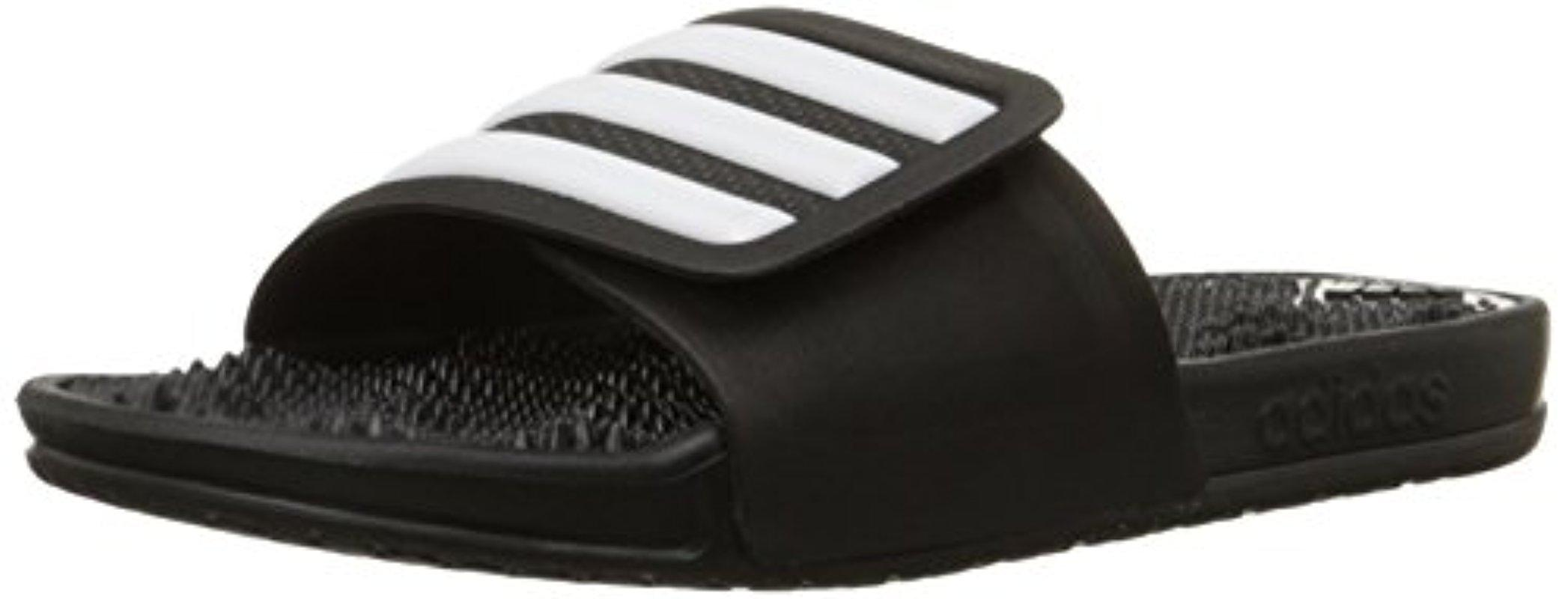 Lyst Adidas Performance adissage Stripes Athletic Sandal en