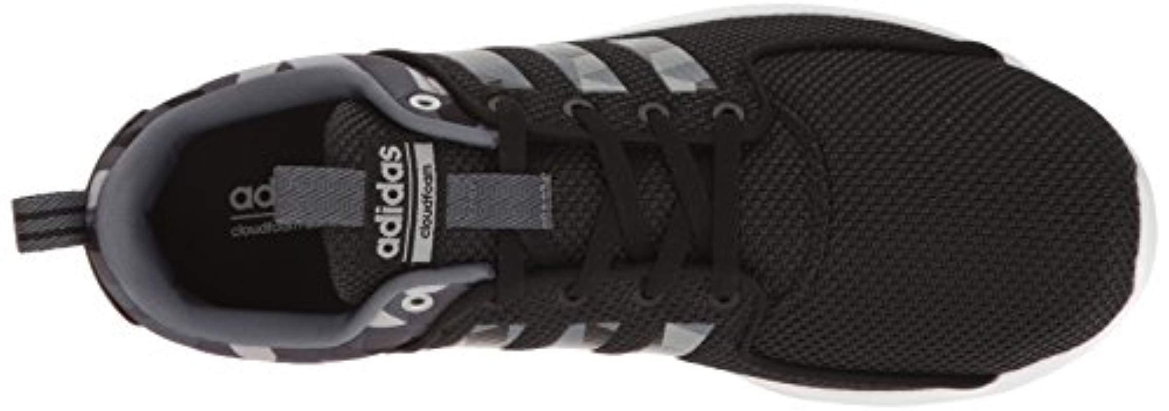 new arrival 01295 e3617 Adidas - Black Cloudfoam Lite Racer Running Shoe - Lyst. View fullscreen