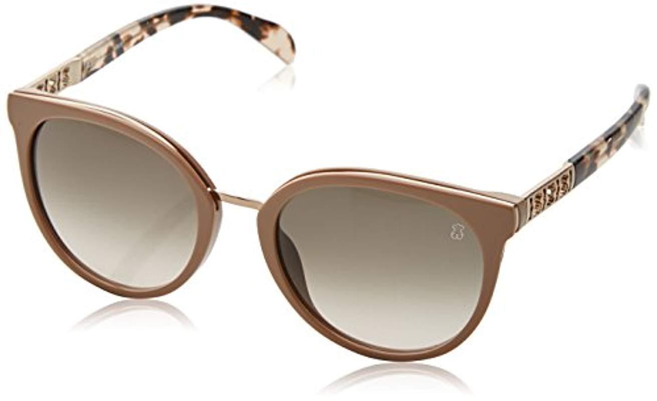 24ea691318 Mujer STO997 Gafas de sol, Beige (Shiny Pale Pink Beige) Tous de ...