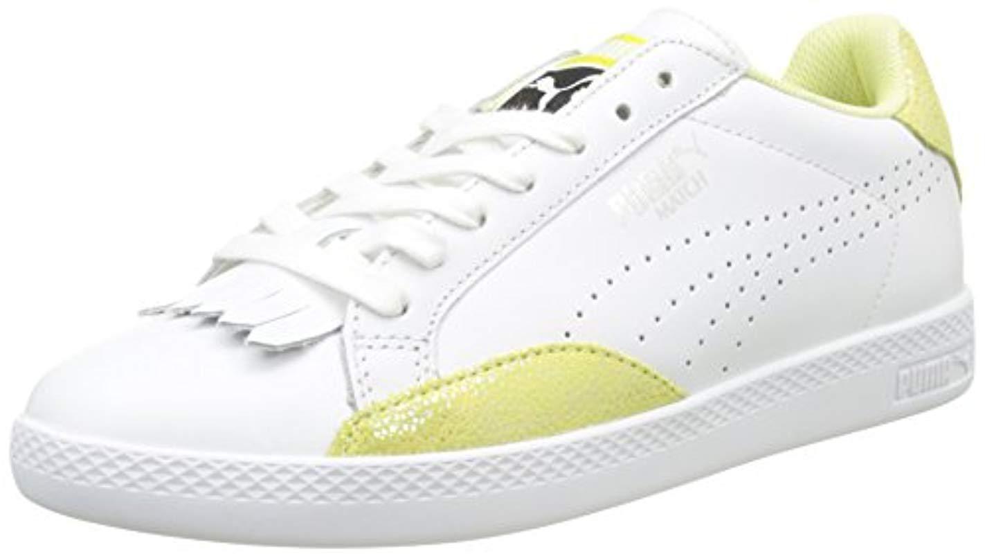 548da197fce398 Puma Match Lo Reset Wn s Low-top Sneakers in White - Lyst