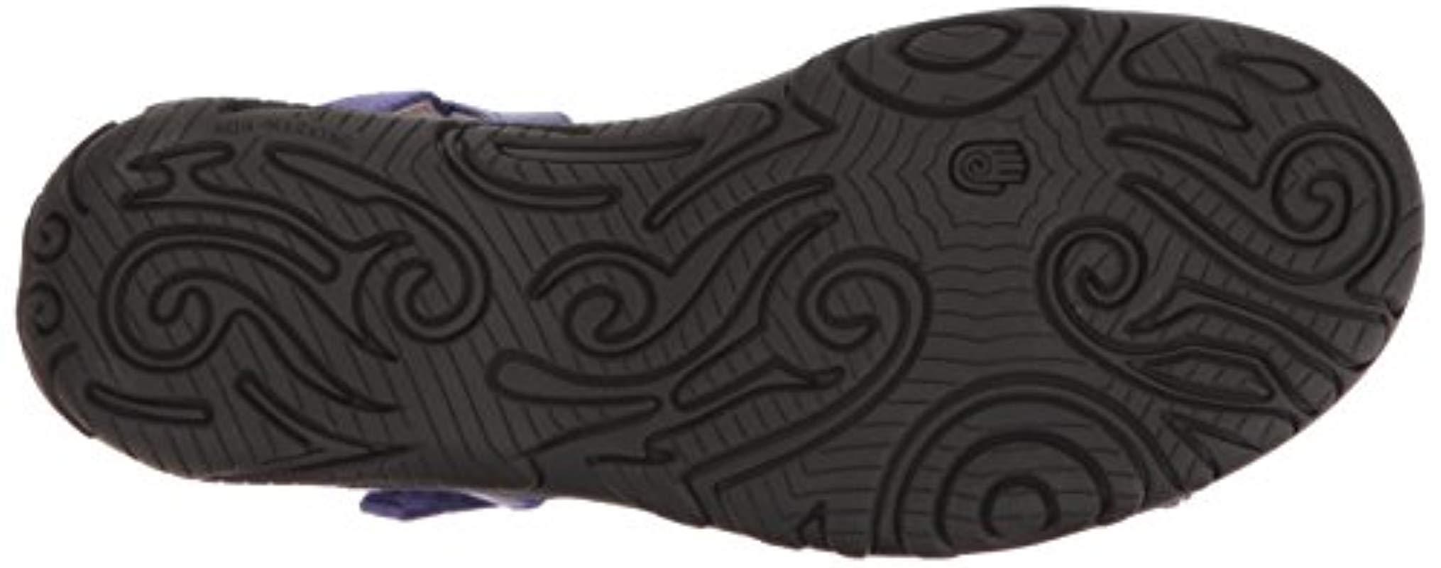abe52c2a29003 Teva 's W Kayenta W's Heels Sandals in Purple - Lyst