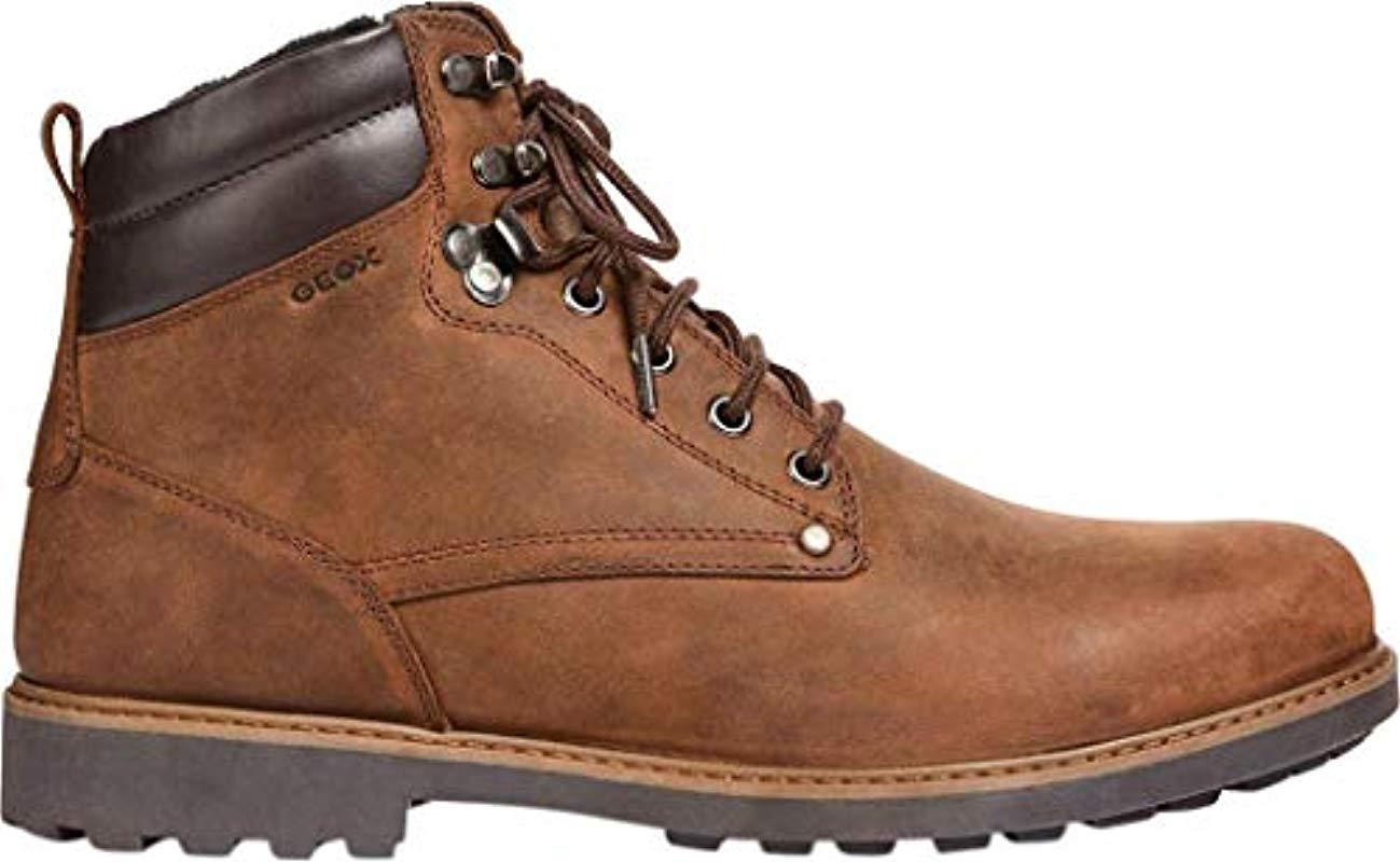 23fc6ac6 Geox U Norwolk A Chukka Boots in Brown for Men - Lyst