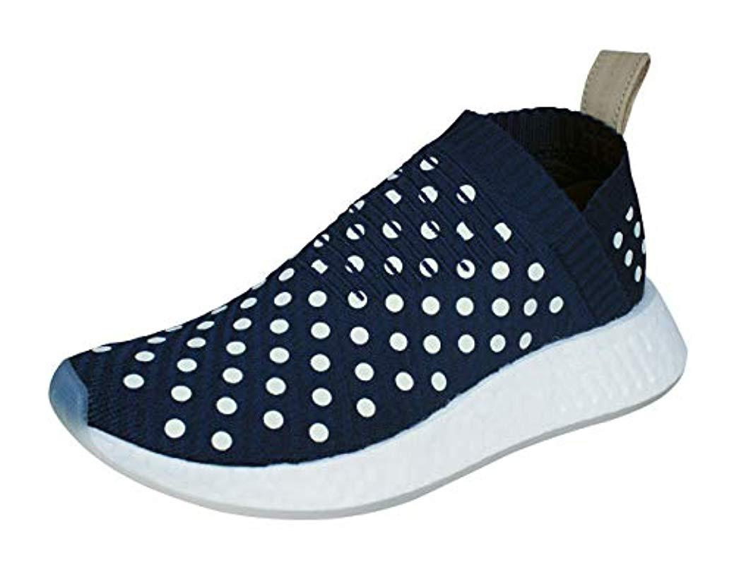 3370ad91fa94f3 Lyst - Adidas Originals Nmd cs2 Pk W Running Shoe in Blue - Save ...