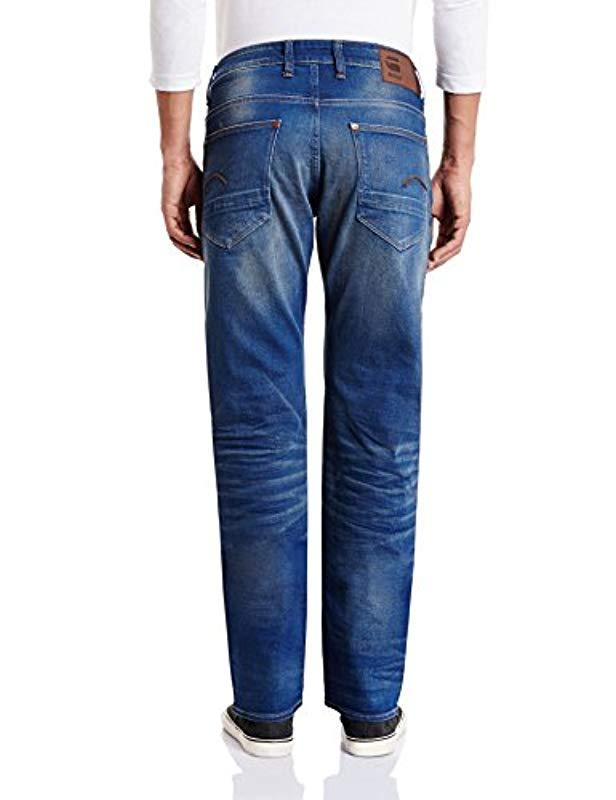 6beb22f9cc1 G-Star RAW Revend Straight Jeans in Blue for Men - Lyst