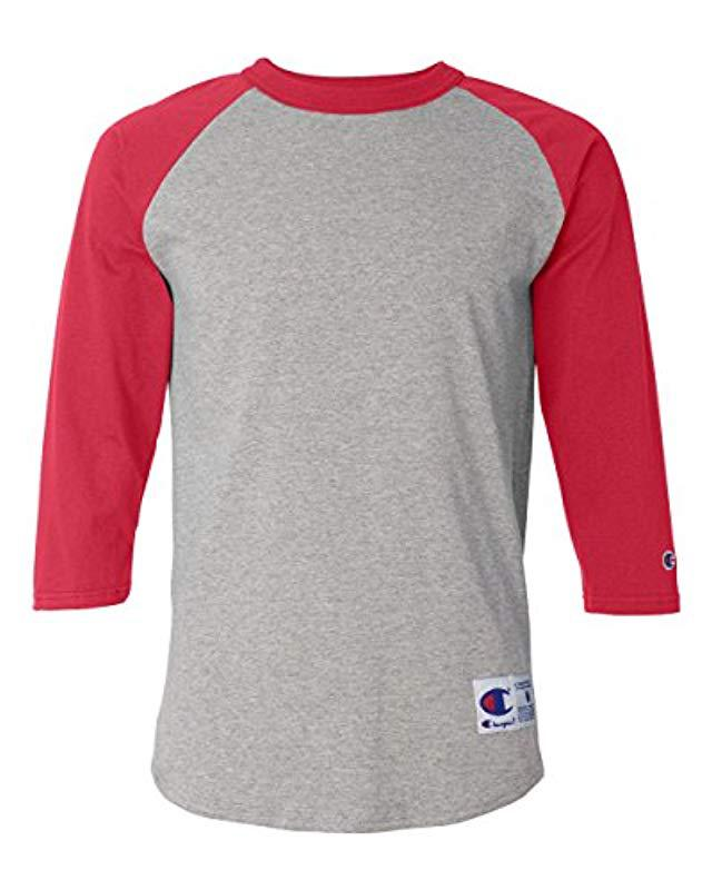 90de253b06cf Lyst - Champion Raglan Baseball T-shirt for Men - Save 20.0%