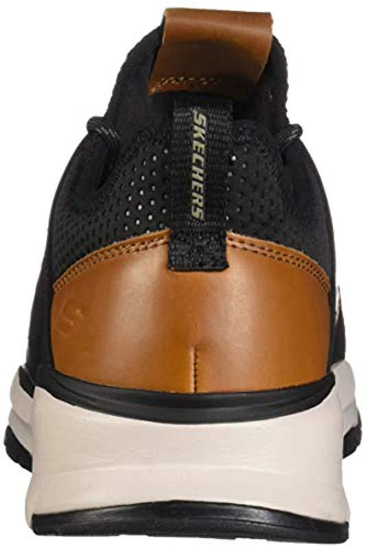 644446ae3f80 Skechers - Black  s Relven- Hemson Trainers for Men - Lyst. View fullscreen