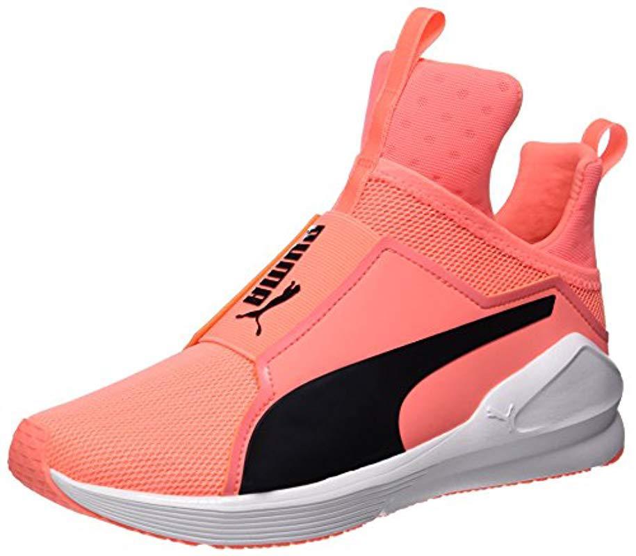 aa0d55ffed3 Puma Fierce Core Fitness Shoes in Orange - Lyst