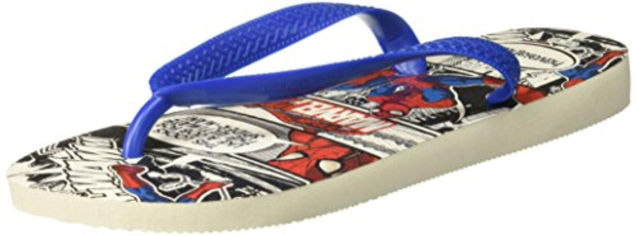 Unisex Adults Top Spiderman Flip Flops Havaianas cDwfaz