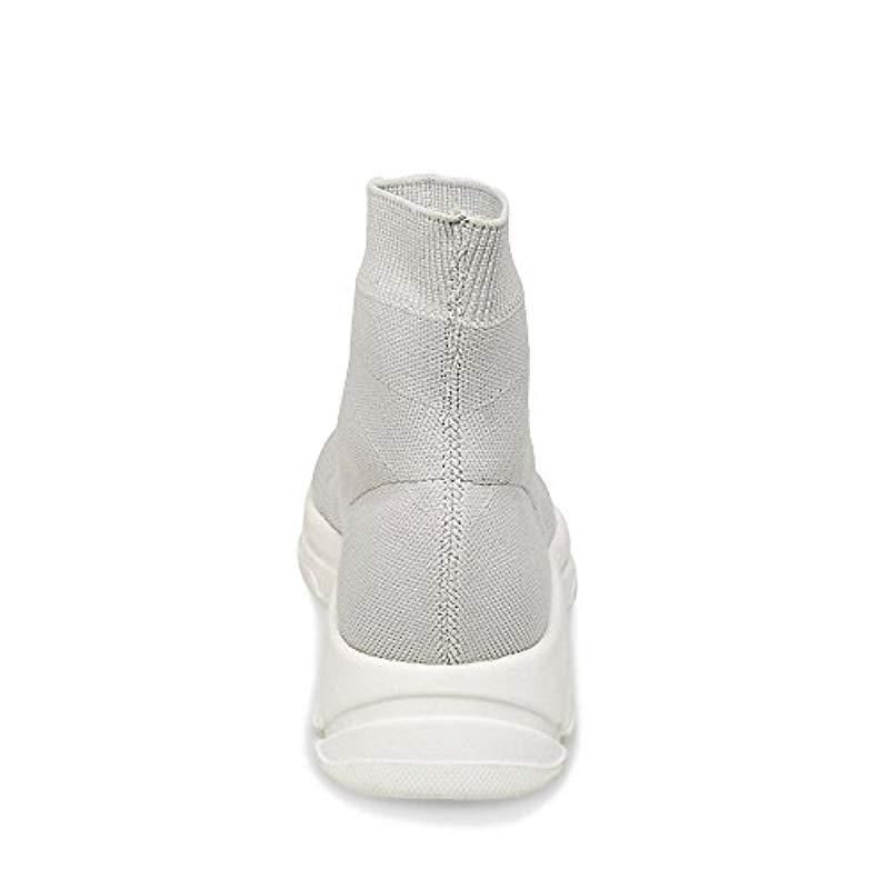 94d5c701c26 Lyst - Steve Madden Bitten Gymnastics Shoes in Gray