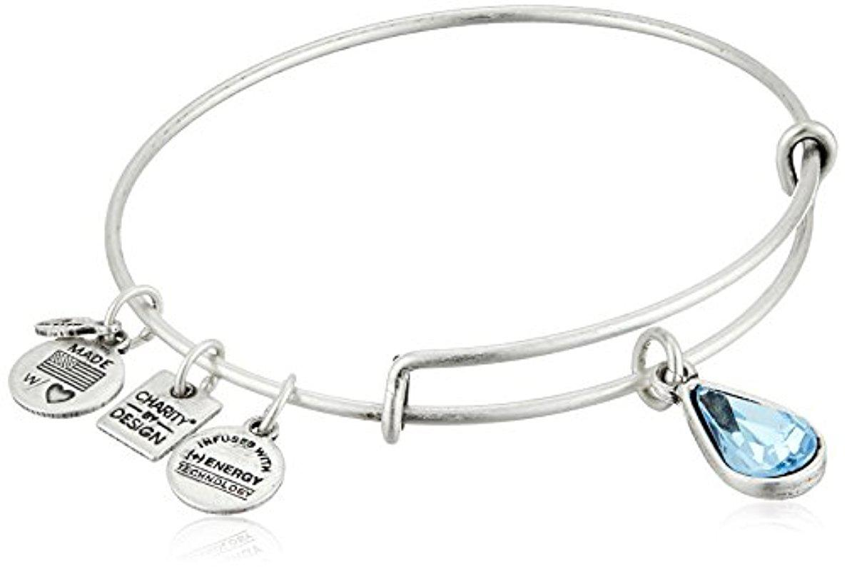 4d606e91a ALEX AND ANI Charity By Design Living Water International Bangle ...