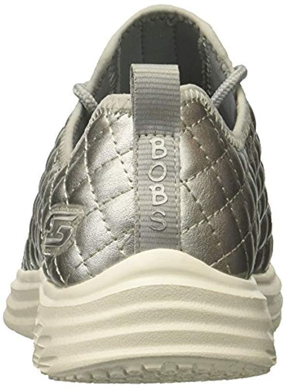7353f94d5462 Skechers - Metallic Bobs Bobs Swift-social Hustle Fashion Sneaker - Lyst.  View fullscreen