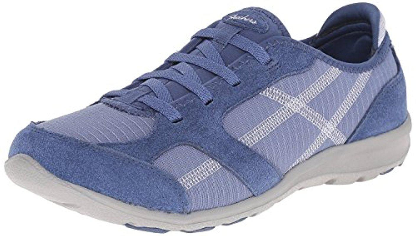 80b1bc5437a8 Lyst - Skechers Sport Dreamchaser Ante Up Walking Shoe in Blue