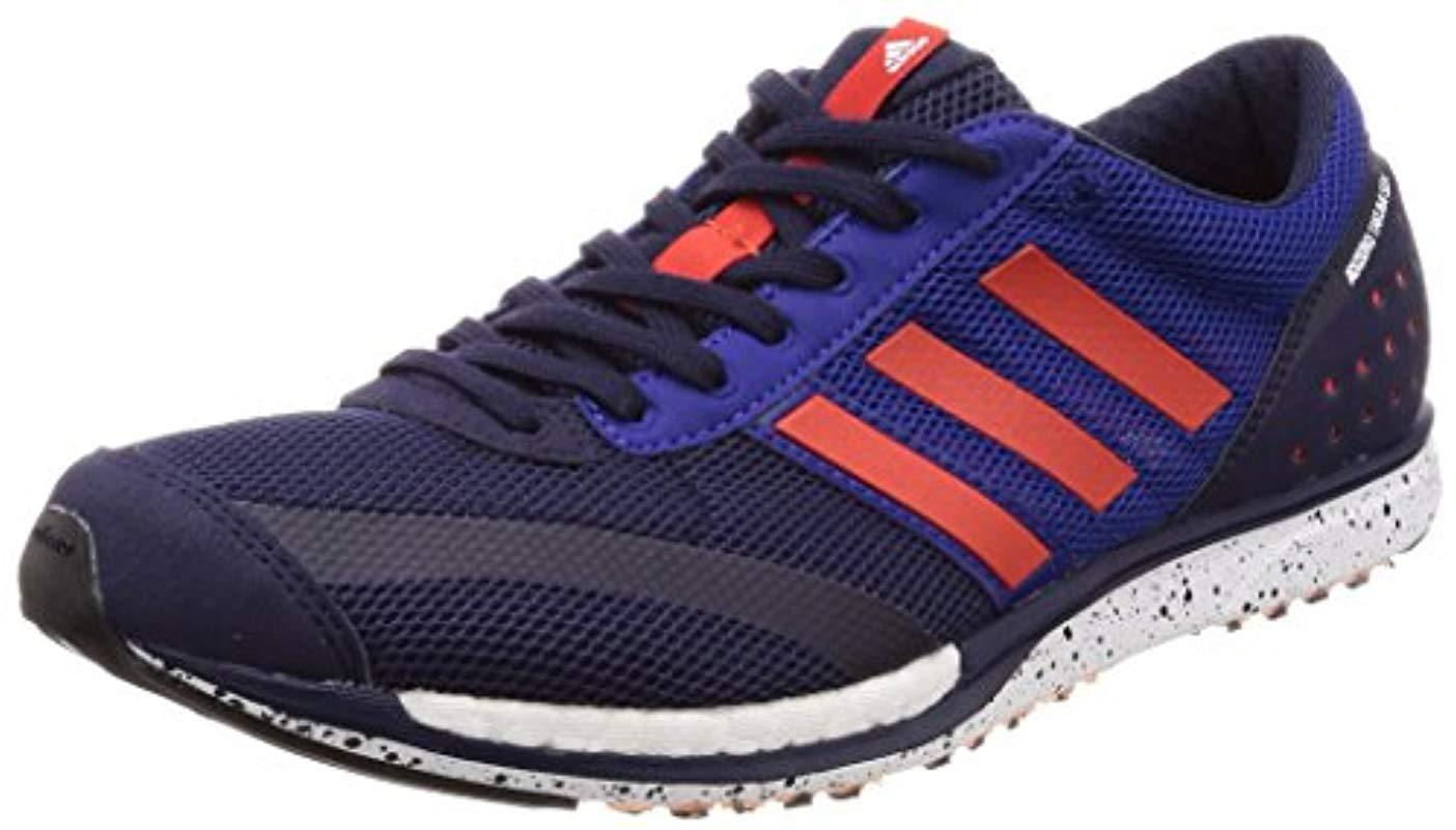 pretty nice a2759 676dc ... shopping adidas unisex adults adizero takumi sen running shoes in blue  for abc07 f8405 coupon code adidas climacool ...