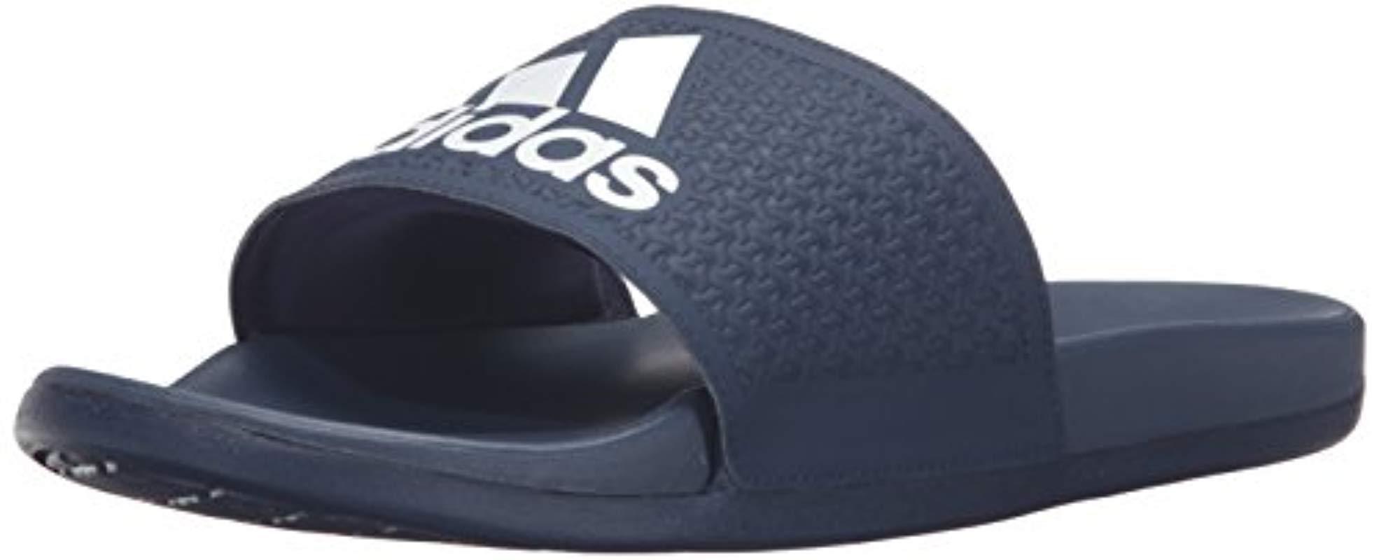 buy popular 6ce22 b99c2 Lyst - adidas Adilette Cf Ultra C Cross-trainer Shoe in Blue