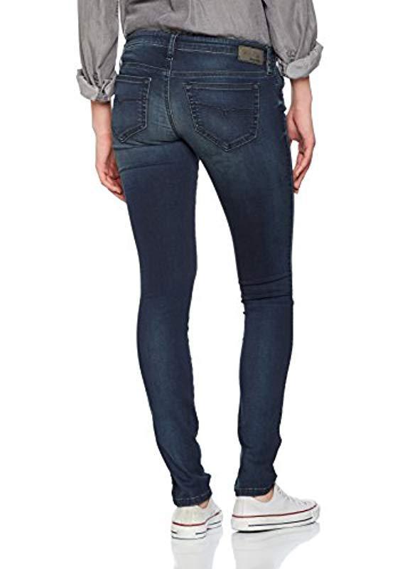 7199b0b4f31 DIESEL - Blue Skinzee-low Pantaloni Skinny Jeans - Lyst. View fullscreen