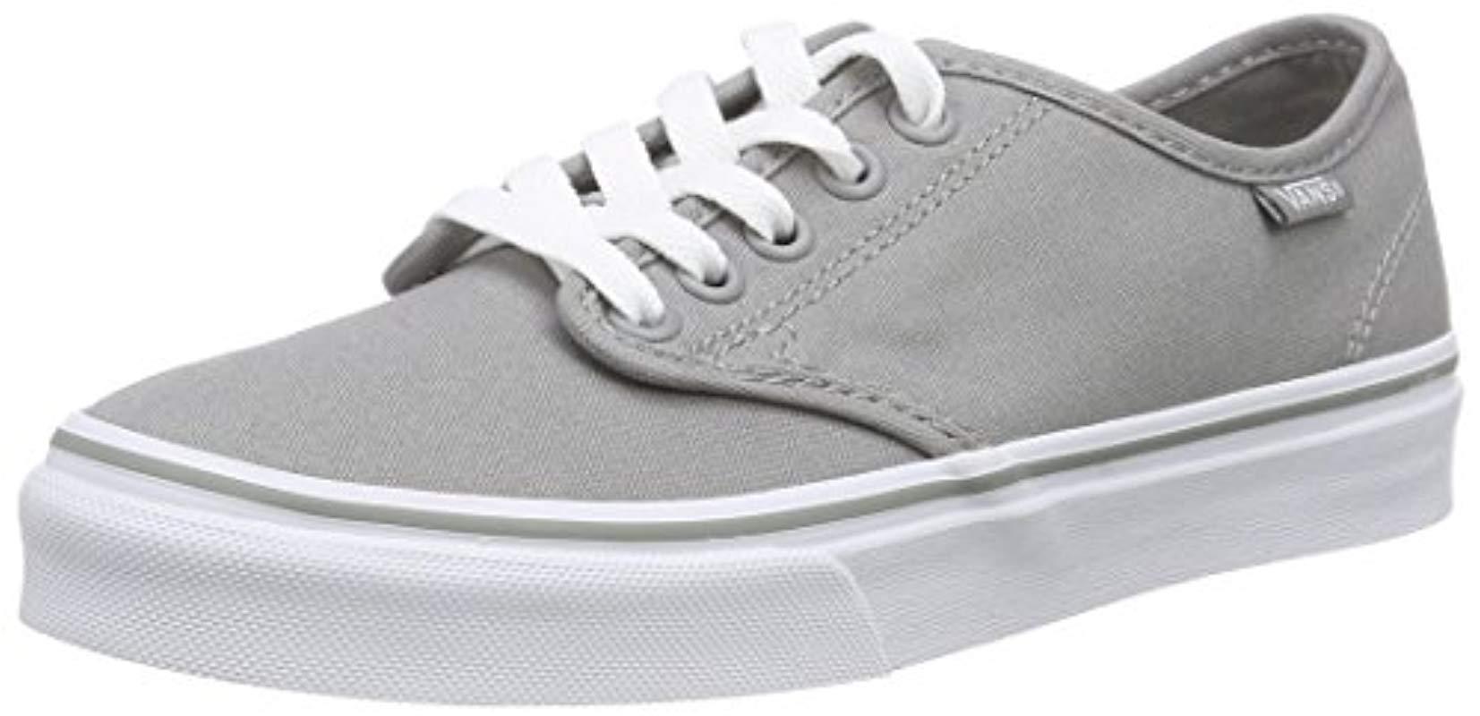 8257f253c9d4c3 Vans Camden Stripe Classic Low-top Sneakers in Gray - Lyst