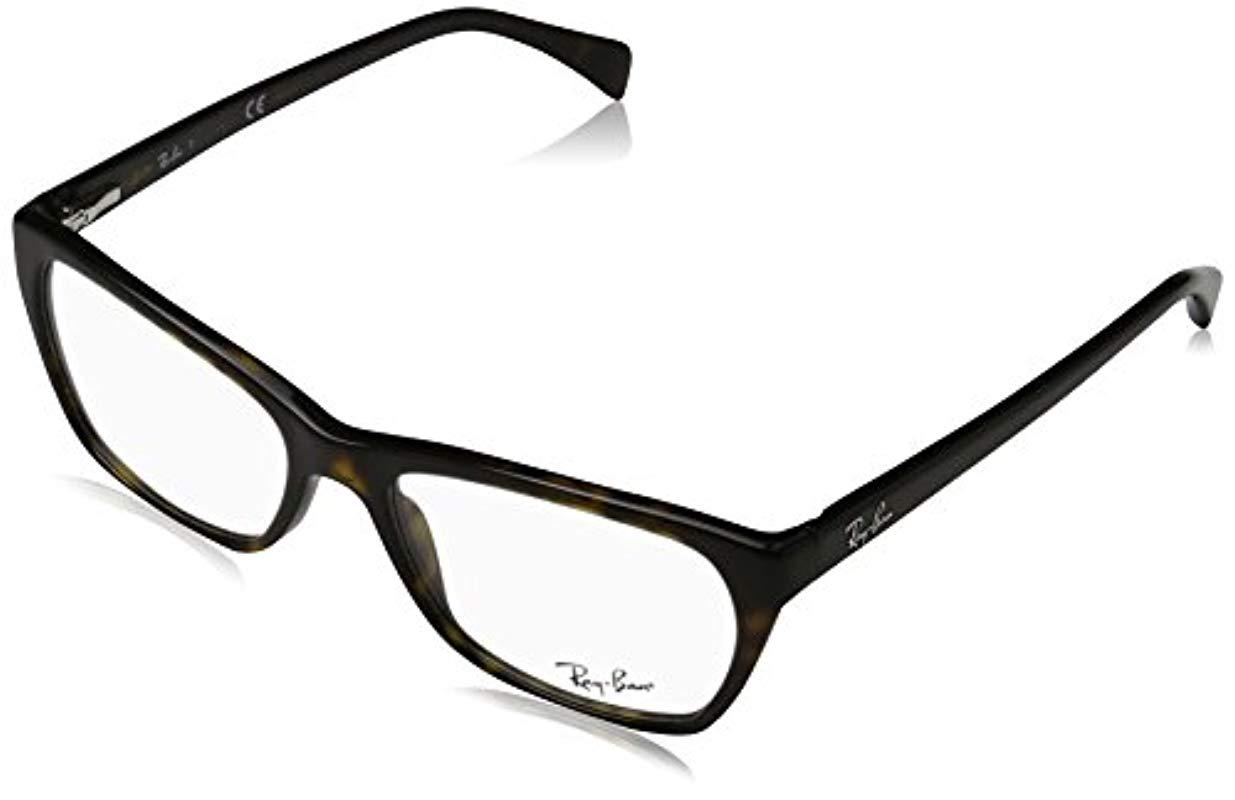 552f21e058 Ray-Ban Optical Frames Mod. 5298 554853 Negro, 53 in Black - Lyst