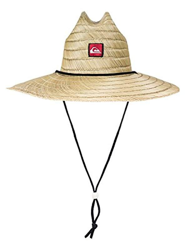 73d6fc46fc315 Lyst - Quiksilver Pierside Straw Hat in Natural for Men