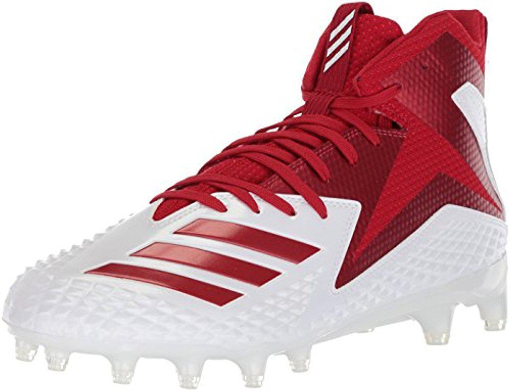 lyst adidas freak x - mitte fest, fußball in rot für männer