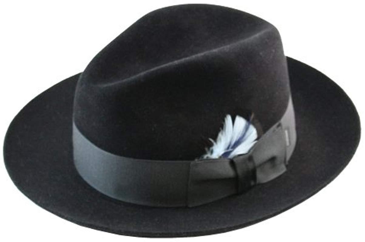 2c08cb510eae2 germany lyst stetson sttson temple royal deluxe fur felt hat in blue for  men bc4c6 8a6e8