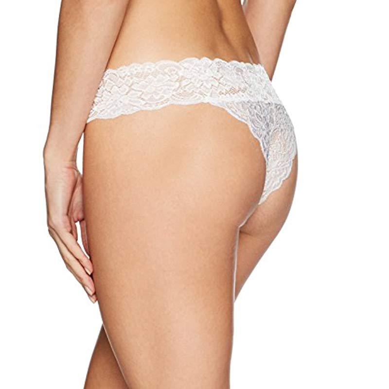 e32ee02777f8 Guess Lace Brazilian in White - Lyst