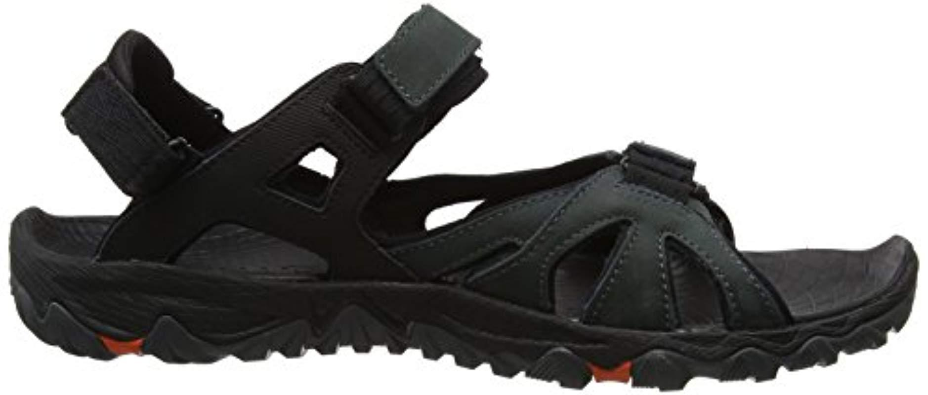 5c460dad3b2a Merrell  s All Out All Out Blaze Sieve Convert Hiking Sandals in Gray for  Men - Save 15% - Lyst