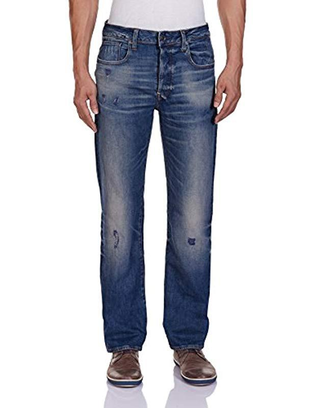 a2650a9d7089f2 G-Star Raw G-star Revend Straight Jeans in Blue for Men - Lyst