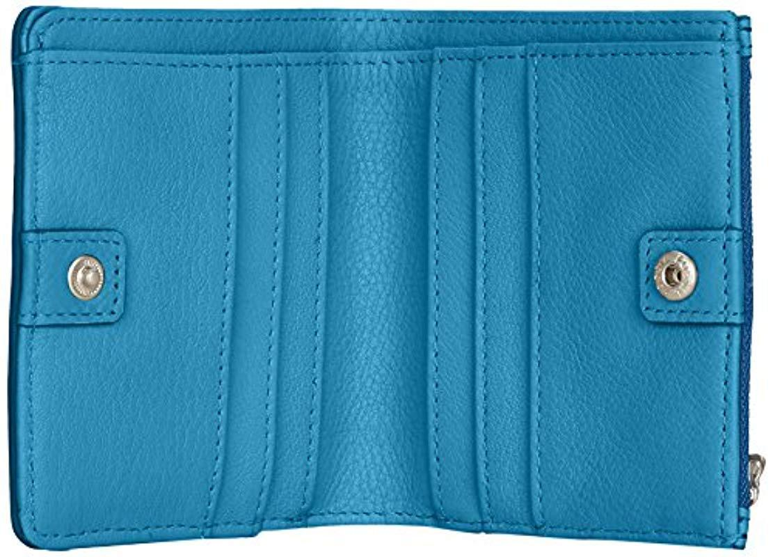 Damen Fossil Blue Taschengeldbörse Fossil Blue gOwqUq