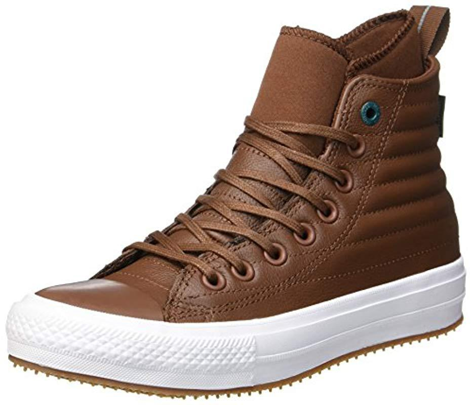 44cad4f2377f Converse Unisex Adults  Ctas Wp Boot Hi Dark Clove Low-top Sneakers ...