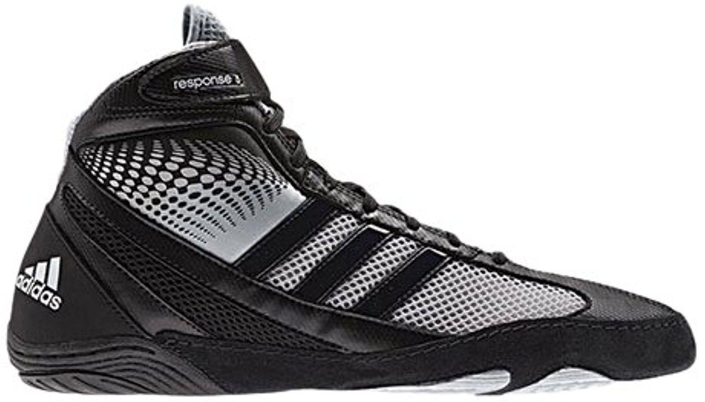 adidas Synthetic Wrestling Response 3.1 Wrestling Shoe in
