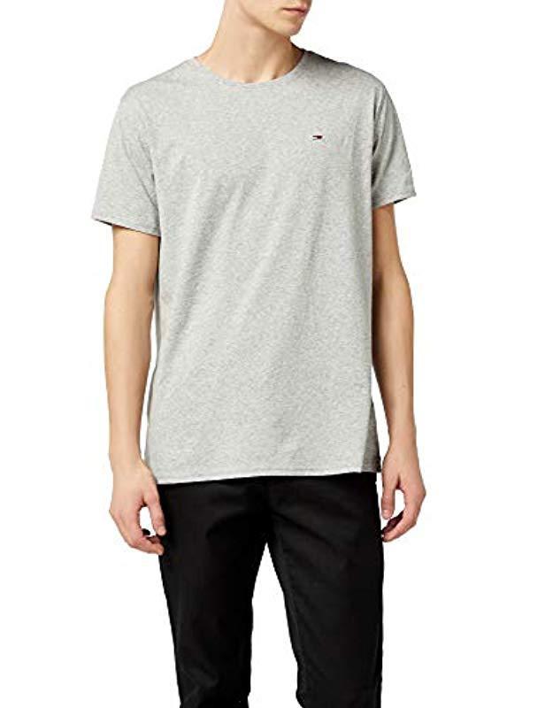 cfe4d0fe Tommy Hilfiger. Men's Gray Original Jersey Short Sleeve Crew Neck T-shirt