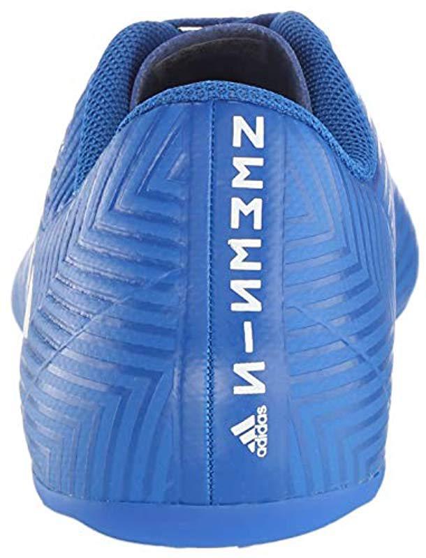 ed07459eb Lyst - adidas Nemeziz 18.4 Firm Ground Soccer Shoe in Blue for Men